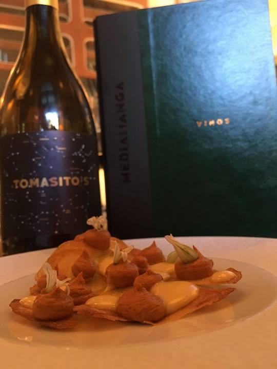 Tomasitos vino restaurante Mediamanga
