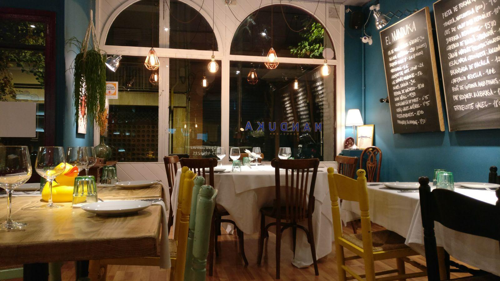 el vino blanco Margarita's en el restaurante el Manduka